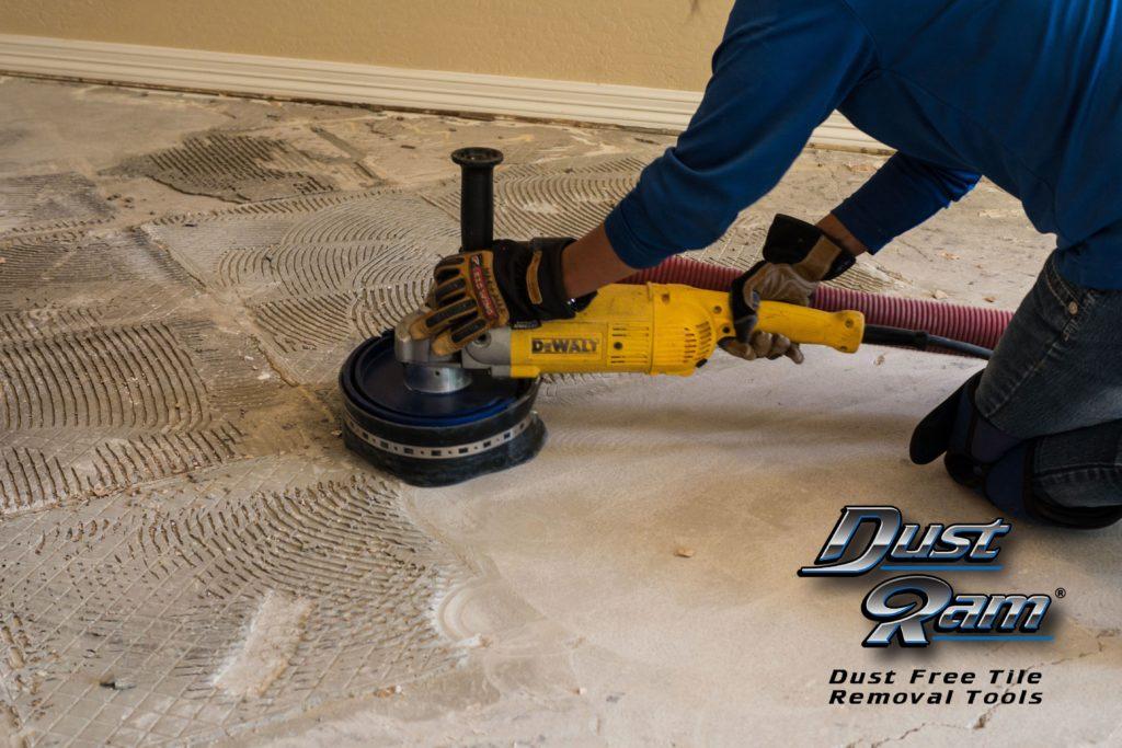 dustless tile removal